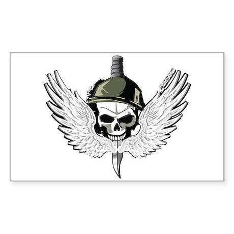 Modern Delta Force Warfare Sticker (Rectangle)