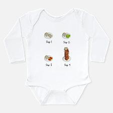 Bacon Bacon BLT Long Sleeve Infant Bodysuit