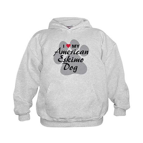 American Eskimo Dog Kids Hoodie