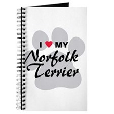 I Love My Norfolk Terrier Journal