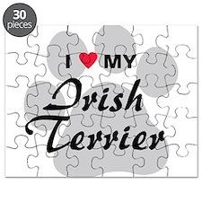 I Love My Irish Terrier Puzzle