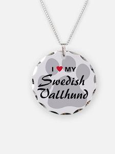 Love My Swedish Vallhund Necklace