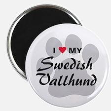 Love My Swedish Vallhund Magnet