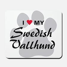 Love My Swedish Vallhund Mousepad