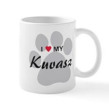 I Love My Kuvasz Mug