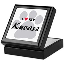 I Love My Kuvasz Keepsake Box