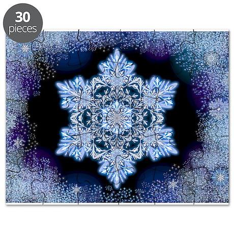 April Snowflake Puzzle