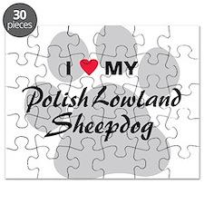 Polish Lowland Sheepdog Puzzle