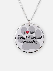 Polish Lowland Sheepdog Necklace