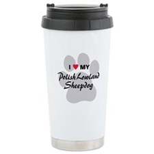 Polish Lowland Sheepdog Travel Mug