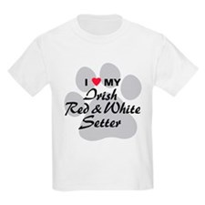 Irish Red & White Setter T-Shirt