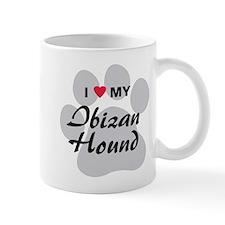 I Love My Ibizan Hound Mug