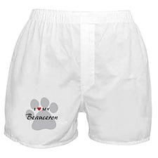 I Love My Beauceron Boxer Shorts