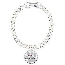 I Love My Komondor Bracelet