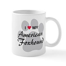 Love My American Foxhound Mug