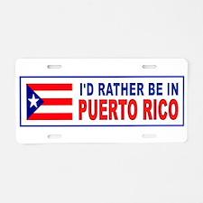 Unique Ponce puerto rico Aluminum License Plate