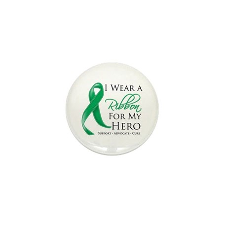 Hero Liver Cancer Mini Button (10 pack)