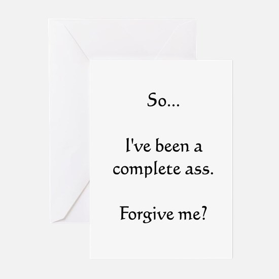Mimi's Complete Ass Greeting Cards (Pk of 10)