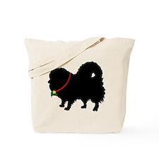Christmas or Holiday Pomerani Tote Bag