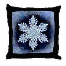 May Snowflake Throw Pillow