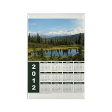 Denali in August Year-at-a-Glance Magnet