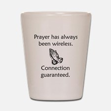 Connection To God Guaranteed Shot Glass