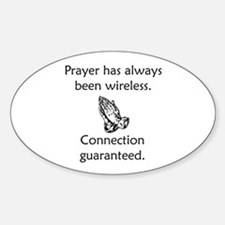 Connection To God Guaranteed Decal
