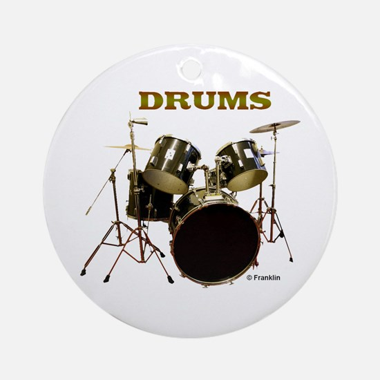 DRUMS Ornament (Round)