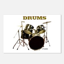 DRUMS Postcards (Package of 8)