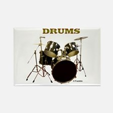DRUMS Rectangle Magnet