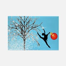 Holiday Dancer by DanceShirts.com Rectangle Magnet