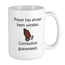 Connection To God Guaranteed Mug