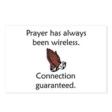 Connection To God Guaranteed Postcards (Package of