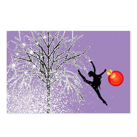 Holiday Dancer by DanceShirts.com Postcards (Packa