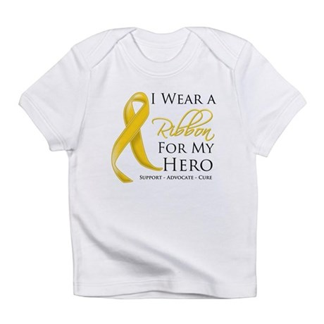Hero Childhood Cancer Infant T-Shirt
