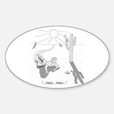 Desert Survival: Halo Sticker (Oval)