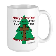 Respect CHRISTmas Mug