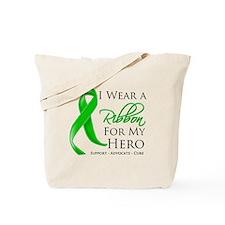 Hero Bile Duct Cancer Tote Bag