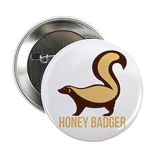 """Honey Badger BadAss 2.25"""" Button"""