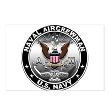 USN Naval Aircrewman Eagle AW Postcards (Package o