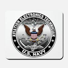 USN Aviation Electronics Tech Mousepad