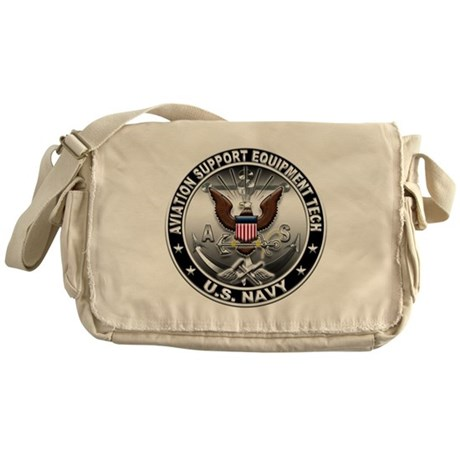 USN Aviation Support Equipmen Messenger Bag