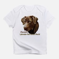 Chocolate Labs Rock Infant T-Shirt
