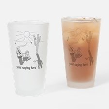 Desert Survival: Personalize Drinking Glass