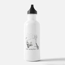Desert Survival: Personalize Water Bottle