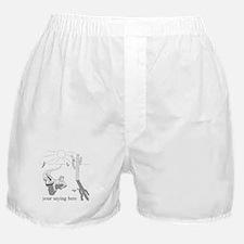 Desert Survival: Personalize Boxer Shorts