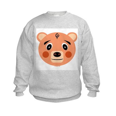 Orange Pig Monster Kids Sweatshirt