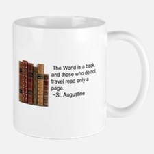 The World is but a book Mug
