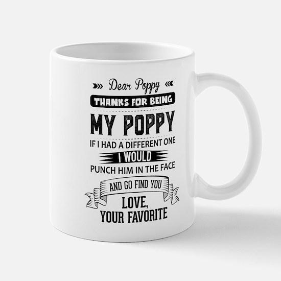 Dear Poppy, Love, Your Favorite Mugs