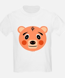 Orange Pig Monster Kids T-Shirt